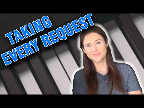 Aimee Live And Taking ALL The Requests
