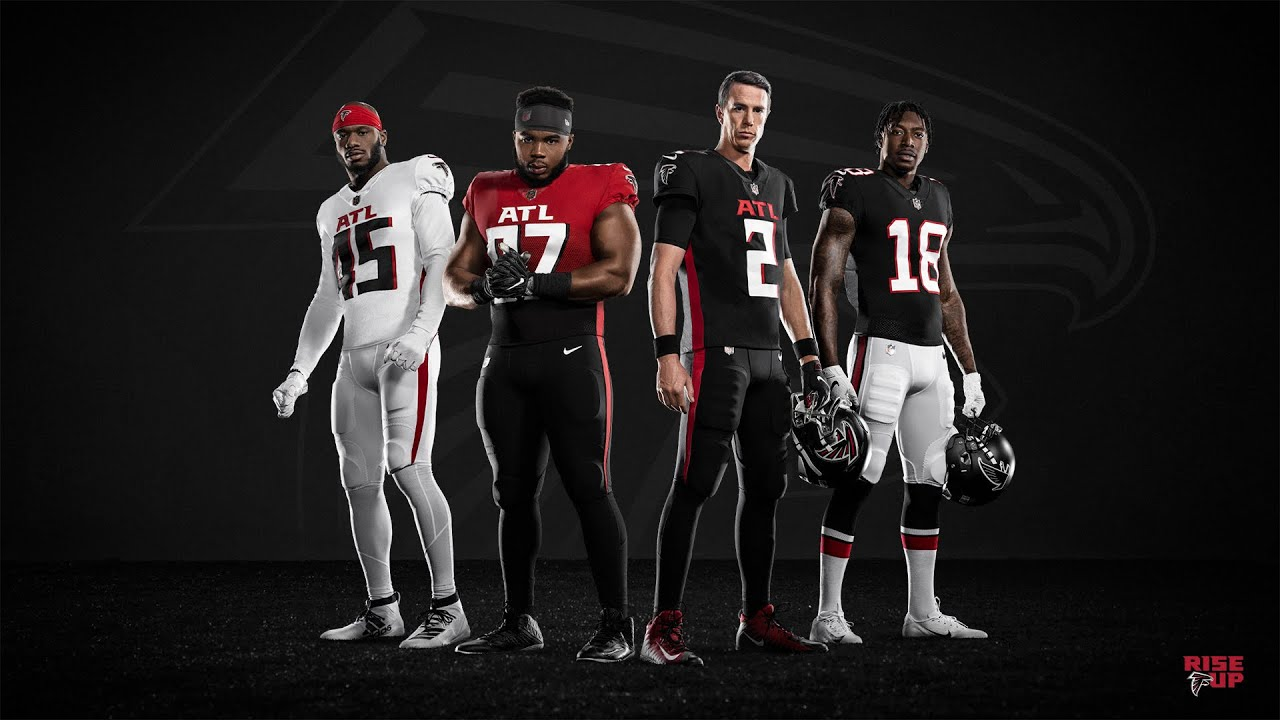 Falcons unveil new-look uniforms
