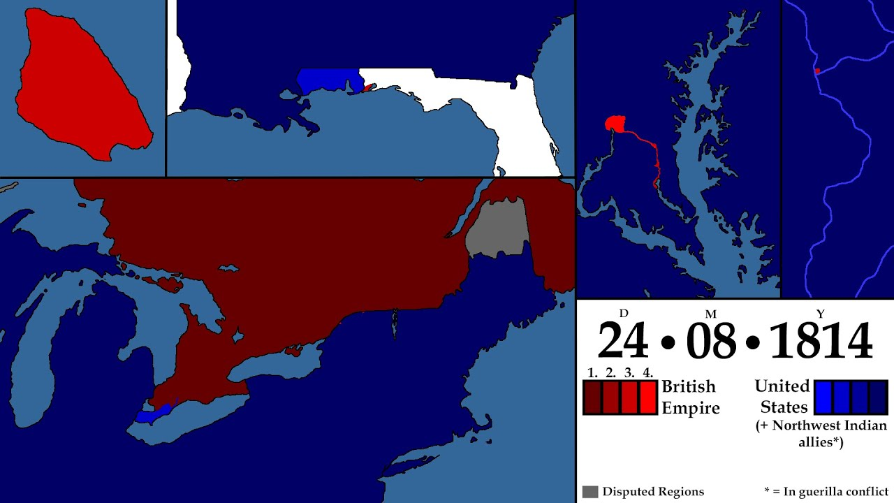 The War Of 1812 Every Day