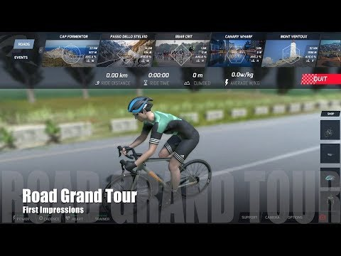 Road Grand Tours - First Impressions