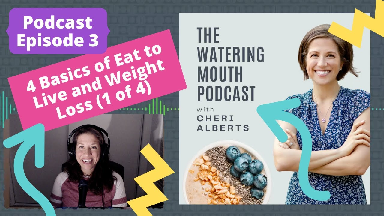 Podcast Episode 3: The 4 Basics of Eat to Live and Weight Loss (1 of 4)