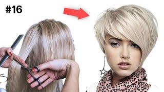 Молодящая Стрижка на короткие волосы Пикси Медиум Пошагово дома Стрижки 2021 2022