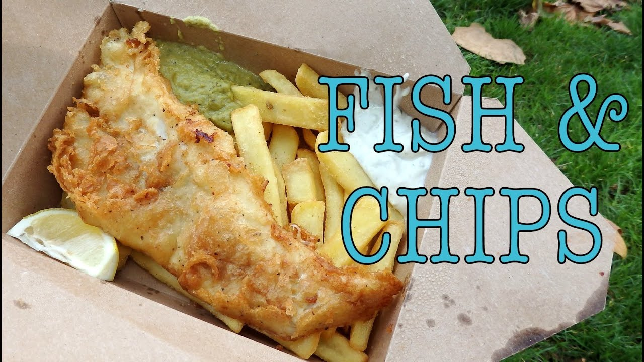 Fish and chips in london youtube for Fish and chips london