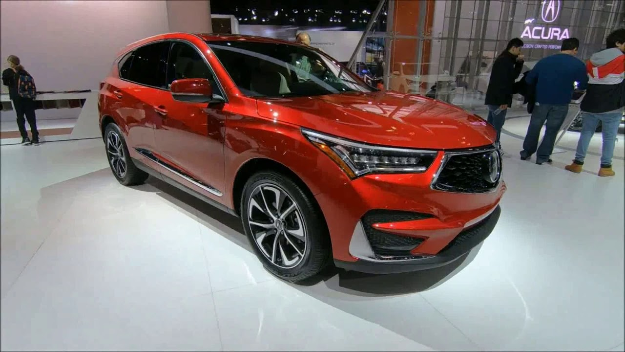 Acura Rdx New 2019 A Spech Sh Awd Crossover Suv World Debut