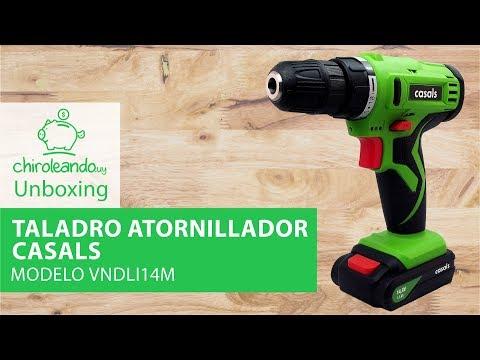 Taladro Atornillador Casals 14.4v Modelo VNDLI 14M / Chiroleando.uy