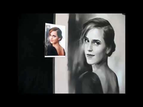 how-to-draw-a-pastel-portrait-step-by-step---emma-watson---black-&-white-soft-pastels