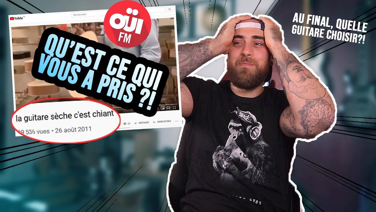 LA GUITARE SÈCHE C'EST CHIANT: Ce spot de Pub OUI FM va trop loin!