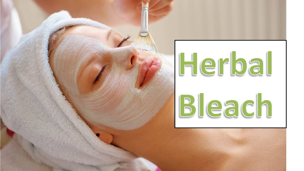 Herbal facial at home for that