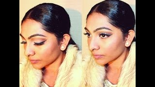 Winter Nude Makeup Tutorial, South African beauty vlogger
