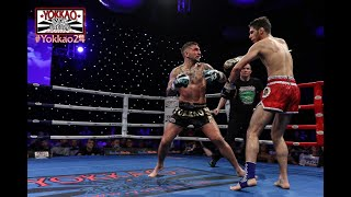 YOKKAO 24 TKO: Liam Harrison (YOKKAO Fight Team) vs Rayan Mekki (France) | YOKKAO World Title 65kg