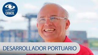 Oscar Isaza, el desarrollador portuario que vendió libros fotocopiados y ropa | Noticias Caracol