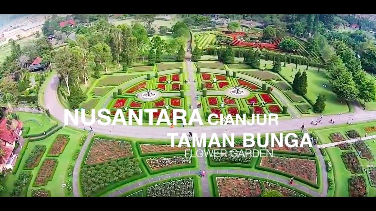 Taman Bunga Nusantara Cianjur Flower Garden Wisatacianjur Youtube