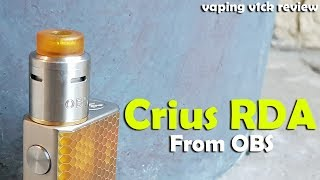 Crius BF RDA from OBS - Review