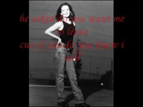 Martina McBride I'm Trying lyrics