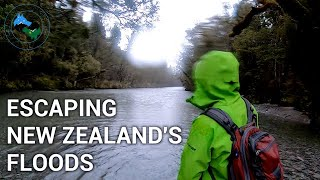 FLOODS, RAIN & A NEW ZEALAND RIVER | ESCAPING THE  STAFFORD HUT TRACK | ADVENTURE HYDROLOGY |