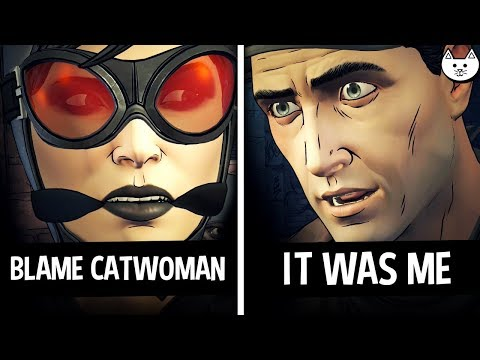 BLAME CATWOMAN vs IT WAS ME - Both Endings - Batman The Enemy Within Episode 3 Gameplay Choices