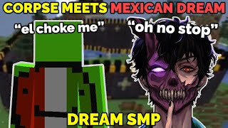 CORPSE HUSBAND meets Mexican Dream on Dream SMP with Karl Jacobs