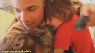 Soldier surprise children compilation 2017 Welcome Home Soldiers Surprise Homecoming