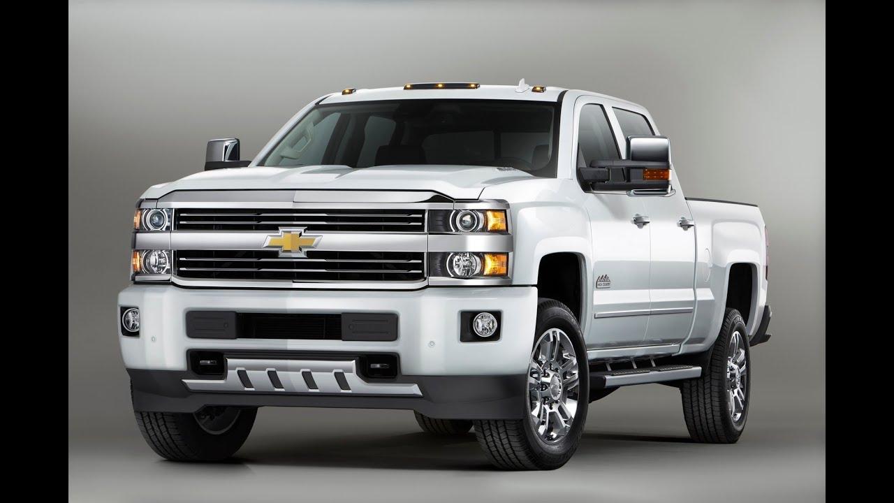 2015 Chevrolet Silverado High Country Heavy Duty Pickup