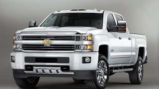 2015 Chevrolet Silverado High Country Heavy Duty Pickup Truck