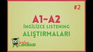 A1 A2 İngilizce Dinleme Alıştırmaları (Listening in English) #2