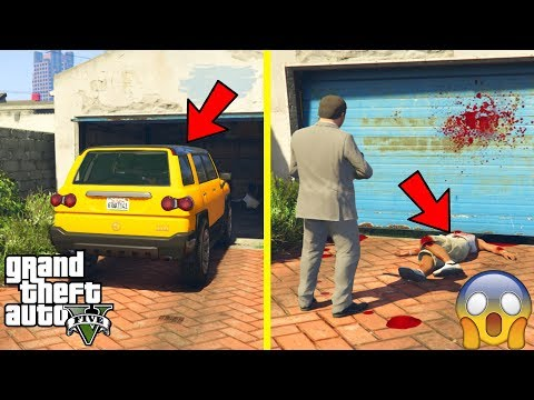 GTA 5  What Happens if You STORE MICHAEL'S CAR IN YOUR GARAGE