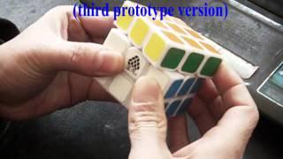 Type C V WitYou v2 3x3x3 magic cube to test (third prototype version)