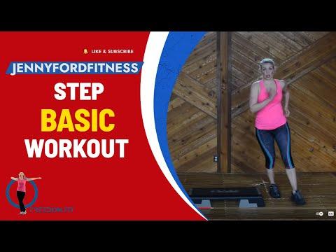 Step Aerobics Basic w/3 SUPER Combos