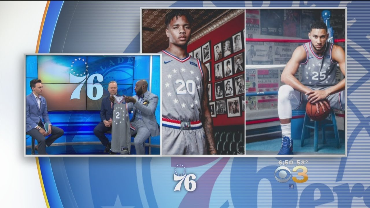 ac49700c36a Sixers Unveil  City Edition  Uniforms. CBS Philly