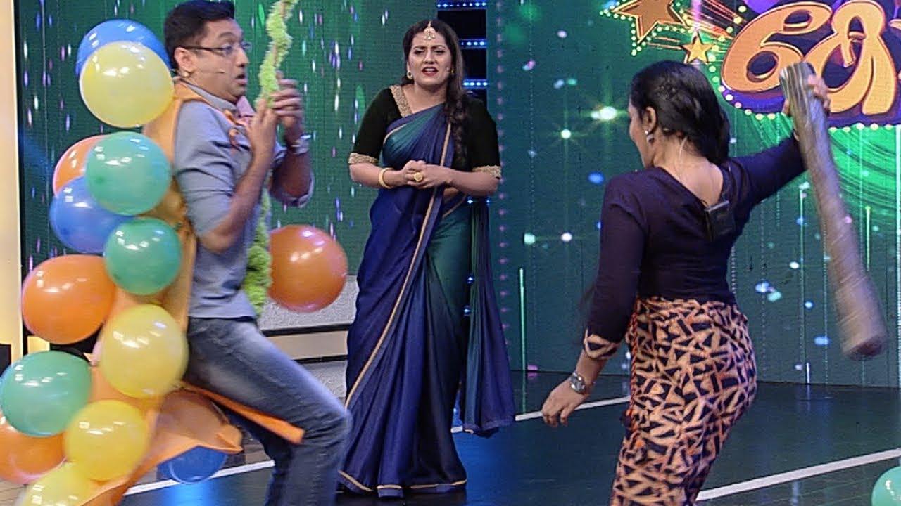 #Thakarppan Comedy I A funny balloon smash I Mazhavil Manorama