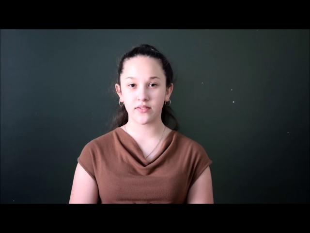 Изображение предпросмотра прочтения – НесинаДарьяна читает произведение «Дума (Печально я гляжу на наше поколенье!..)» М.Ю.Лермонтова