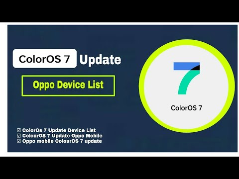 ColorOs 7 Update Device List|ColorOS 7 Update Oppo Mobile|Oppo mobile ColorOS 7 update