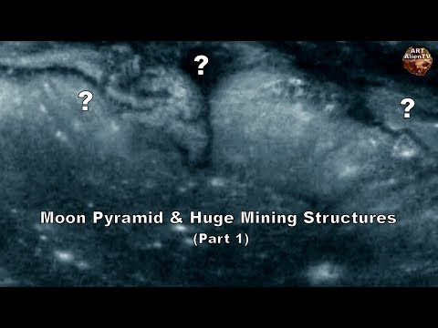 nouvel ordre mondial | MOON PYRAMID & Huge Mining Structures