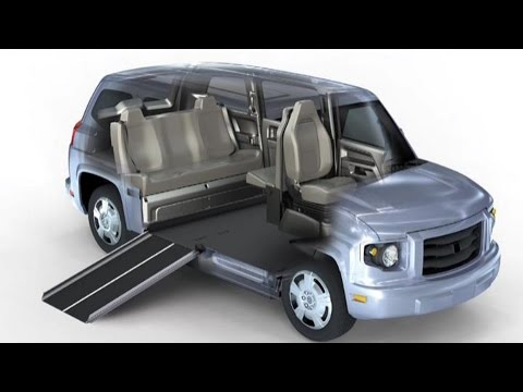 World's First Purpose Built Universally Accessible Vehicle MV-1