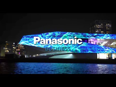 Title: Panasonic sponsor World Masters of Projection Mapping ISE'18