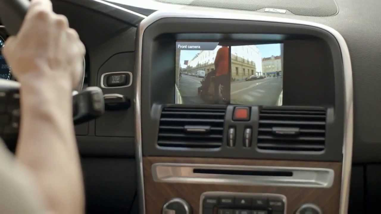 Volvo XC60 Front Park Assist Camera - YouTube