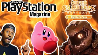 Playstation Magazine Leak PS5 Launch Games? | New Kirby Game Coming | Doom Slayer Smash Ultimate