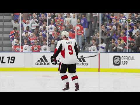 NHL 19 - Ottawa Senators Vs Edmonton Oilers Shootout