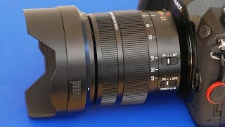 A Look At The Panasonic 12-60mm f/2.8-f4 Zoom Lens For Micro Four Thirds Cameras