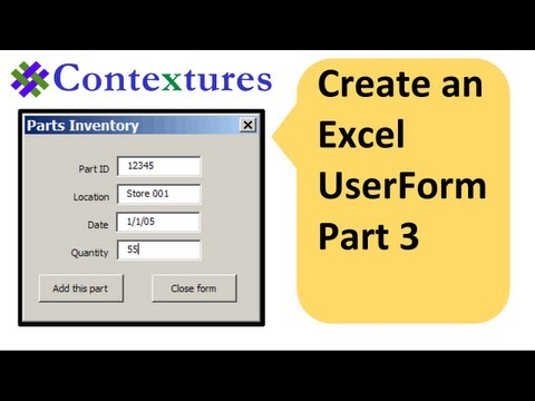how to create static record number userform excel vba
