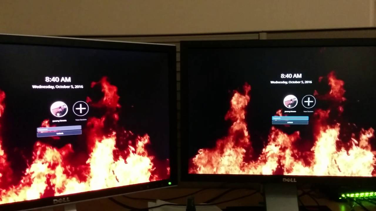 KDE Plasma 5 8 Lock Screen Video Wallpaper