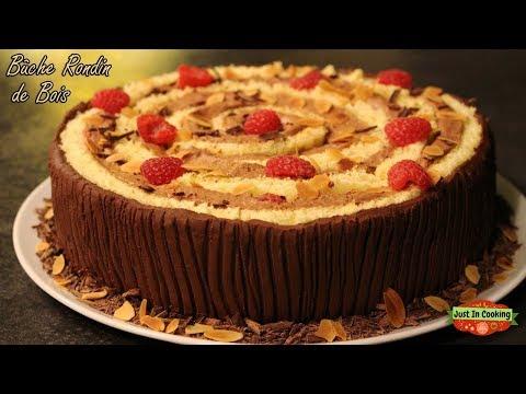 ❅-recette-de-bûche-de-noël-rondin-de-bois-chocolat-framboise-❅
