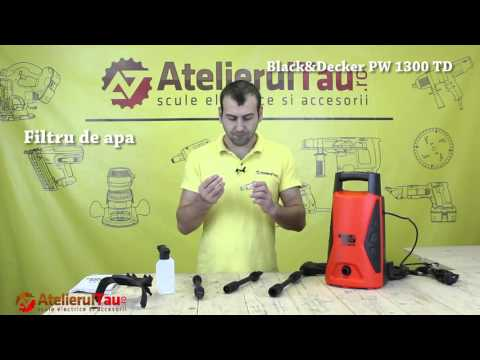 Masina De Spalat Cu Presiune Black&Decker PW 1300 TD - AtelierulTau.ro - Wunder Haff