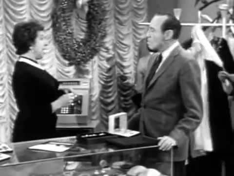 "1957-12-15 The Jack Benny Program ""Christmas Shopping Show (Mel Blanc)"" Season 8 Episode 7"