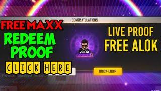 Get FREE DJ ALOK Live Proof of Redeem !! Free DJ Alok in FREE FIRE | FREE MAXX #totalgaming #loud screenshot 3
