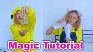 Magic trick tutorial by Asya Siam