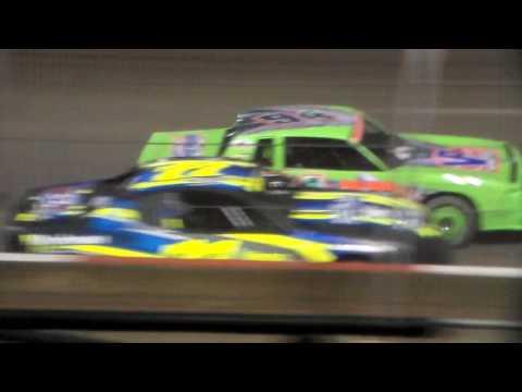 Stock Car Amain @ Beatrice Speedway 03/09/17