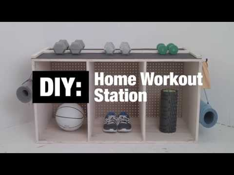 DIY: Home Workout Station
