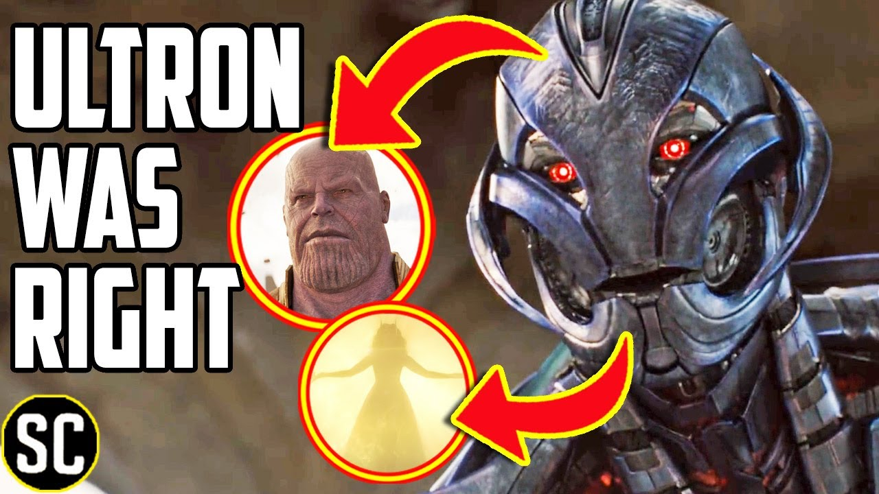 Download AVENGERS: Why Ultron Was Right (And Knew About The Scarlet Witch!)