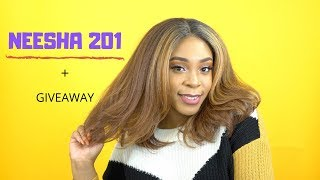 Outre Synthetic Lace Front Wig - NEESHA 201 +GIVEAWAY --/WIGTYPES.COM